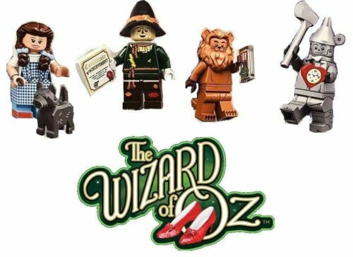 LEGO MOVIE 2  WIZARD OF OZ Mini-figures Set DOROTHY TIN MAN LION SCARECROW SEALE