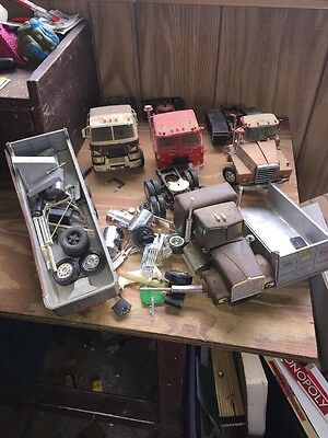 Vintage Model Truck Semi  Parts Junkyard Lot Mack Itv 1970s