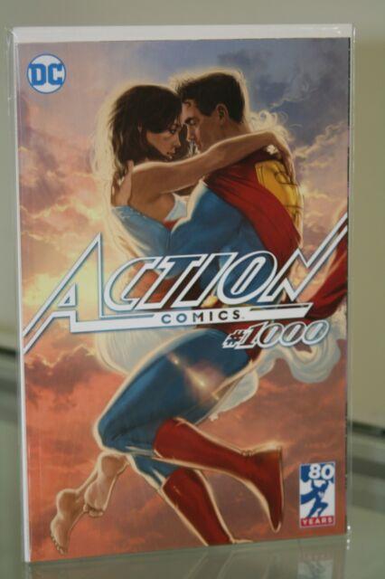 DC COMICS ACTION COMICS #1000 VARIANT COVER