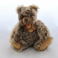 "Vintage Steiff Zotty Jointed Mohair 8"" Bear 0300/22 Pendant and Button Ear Tags"