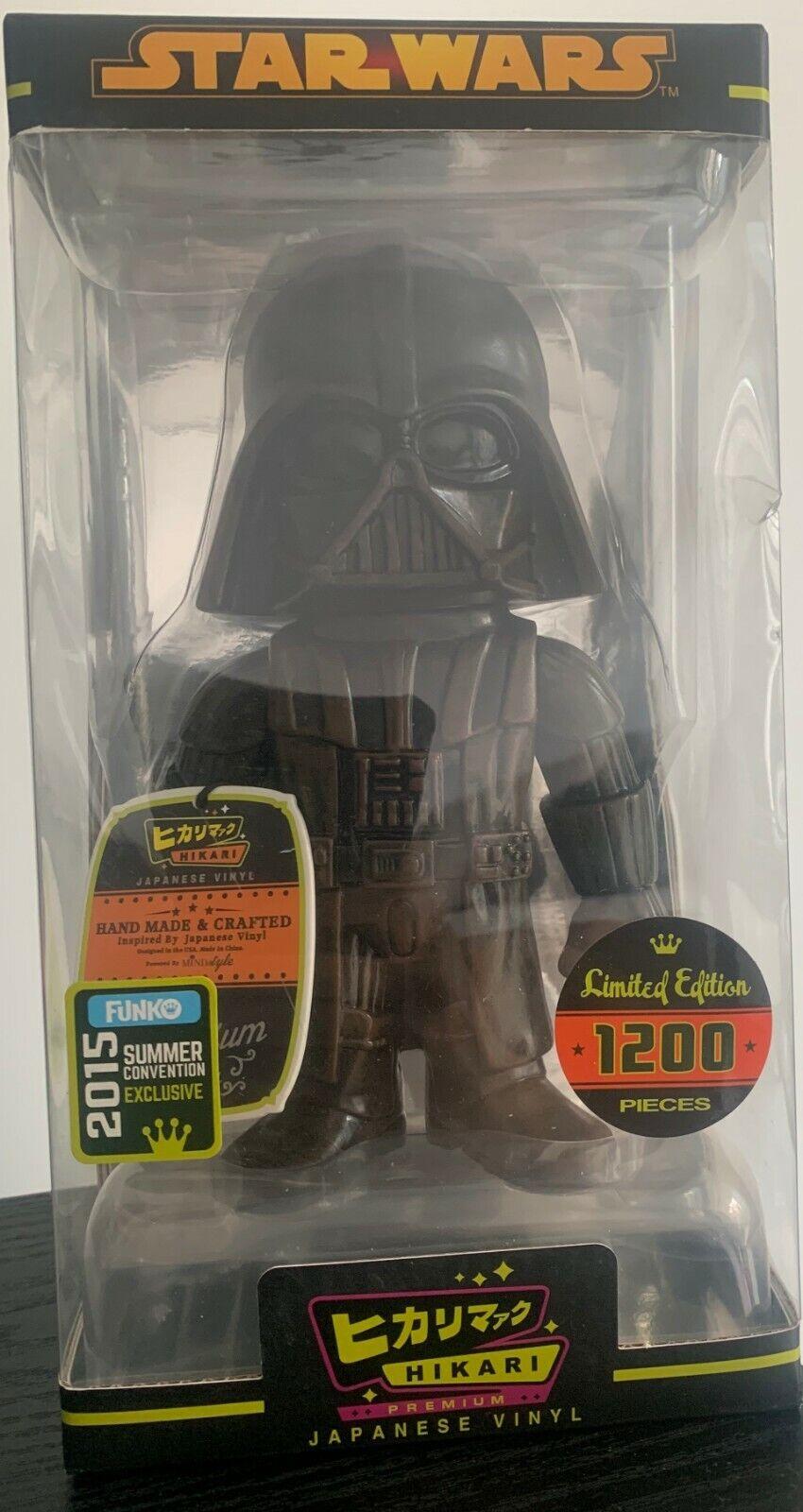 Hikari japonés Vinilo 2015 Funko Guerra De Las Galaxias Darth Vader Limited 1200 exclusivo un