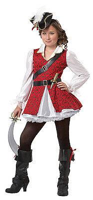 Child Swashbuckler Pirate Buccaneer Caribbean Captain Cuteness Costume Halloween