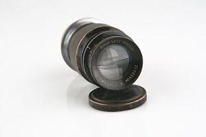 Vintage-Ernst-Leitz-GmbH-Wetzlar-Camera-Lens-Elmar-f-9cm-1-4-for-Leica