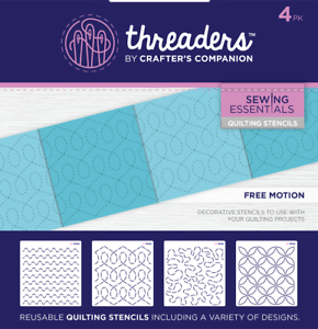 Crafters Companion Penguin Threaders Fabric Die TH-MD-06
