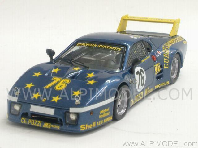 Ferrari 512 BB LM Le Mans 1980 Dieudonne' - Xhenceval - Regou 1 43 BEST 9364