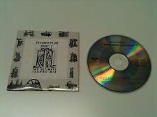 Techno Club Part I - Maxi CD Single ©1989 #ZYX: Robotiko Rejekto,M-Pop Muzik..dg