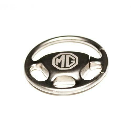 MG STEERING WHEEL KEYRING, GENUINE MG MERCHANDISE, BRAND NEW (MM074)