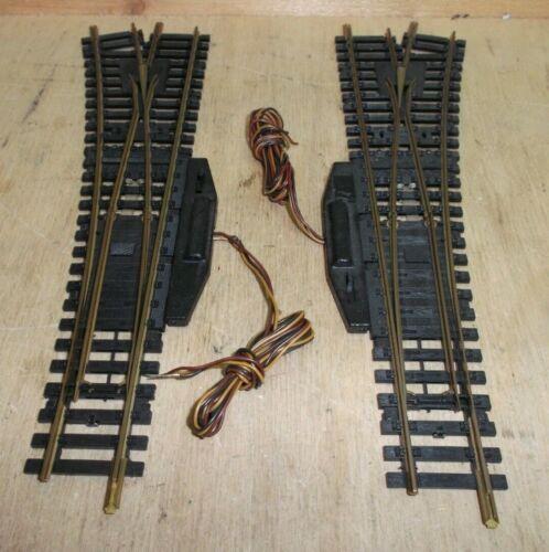 Fleischmann H0 6048 L Weichen mit elektrischem Antrieb geprüft R Modellgleis