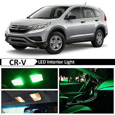 8x HID White Interior LED Lights Package Kit Fits 2002-2006 Honda CRV