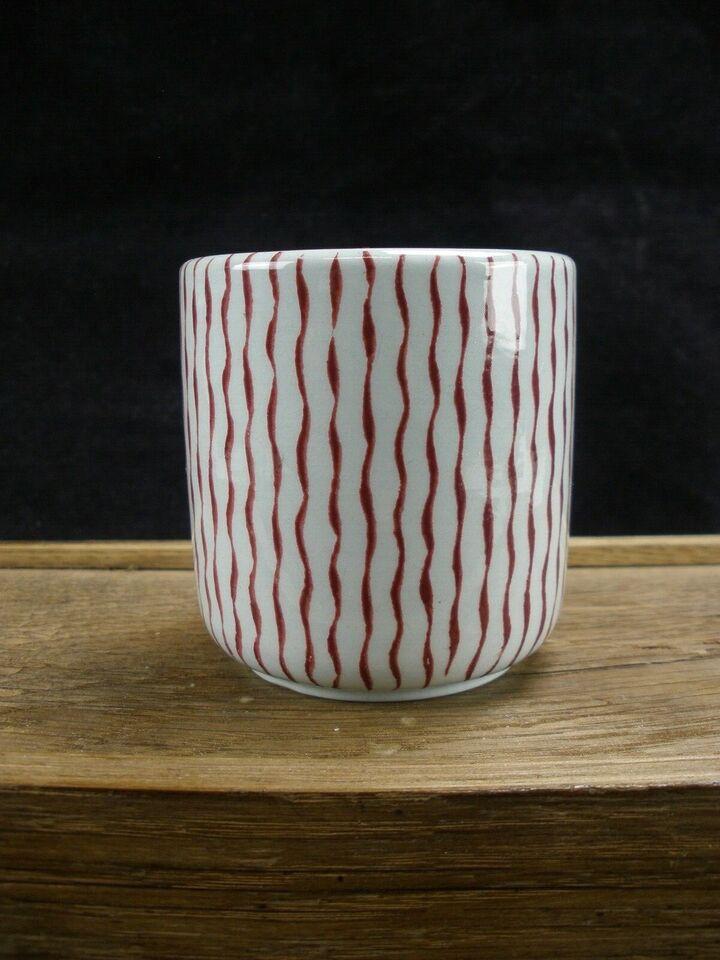 Lille Vase Med Striber, Nymølle