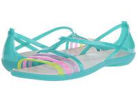 Crocs Women's Isabella Islan Green Sandals - Size   7 / 8 / 9 / 10 / 11