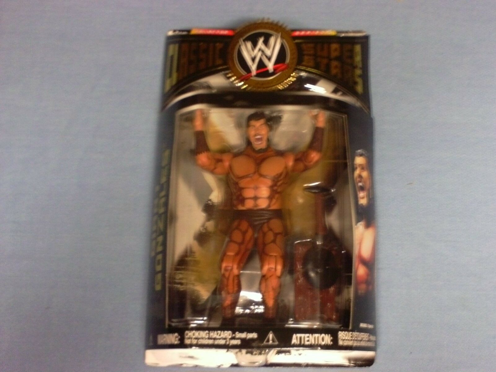WWE CLASSIC SUPERSTARS GIANT GONZALES RARE