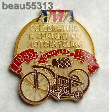"1885-1985 AMA AMERICAN MOTORCYCLE ASSOCIATION ""CELEBRATING A CENTURY"" PIN"