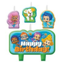 Bubble Guppies Birthday Candle Set Cake Toppers Decorations Party Supplies Favor