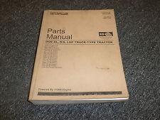 Caterpillar Cat D6N XL DS LGP Track Type Tractor Crawler Parts Catalog Manual