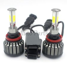 H11 180W 18000LM 4-Sided LED Headlight Kit Low Beam Bulbs 6000K White High Power