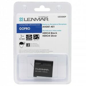 Lenmar-Replacement-Battery-For-Gopro-Hero4-AHDBT-401