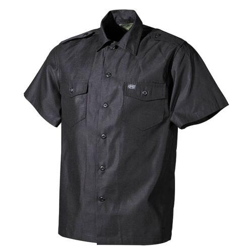 US Outdoorhemd per il tempo libero Camicia a maniche corte MANICA CORTA SPALLA sportelli petto tasche bottoni