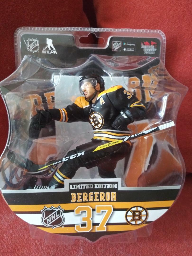 marca de lujo Patrice Bergeron Boston Boston Boston Bruins importaciones Dragon Figura de edición limitada de sólo 4850  entrega rápida
