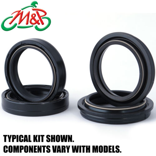 Kawasaki ZX900 Ninja ZX9R 1997 Replacement Fork Oil /& Dust Seal Kit