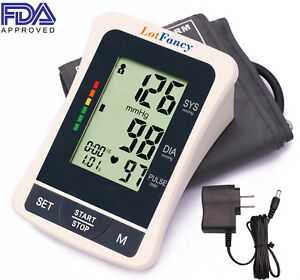 Automatic-Digital-Arm-Blood-Pressure-Monitor-Large-BP-Cuff-Gauge-Machine-Meter