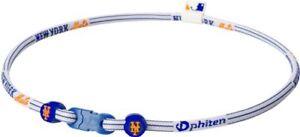 Phiten-Baseball-MLB-New-York-Mets-X30-Titanium-Necklace-Size-18-034-New