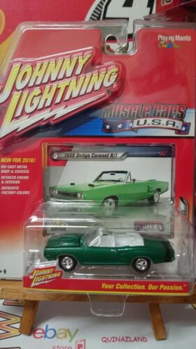 Johnny Lightning Musclecars USA 1969 Dodge Coronet R//T NG2