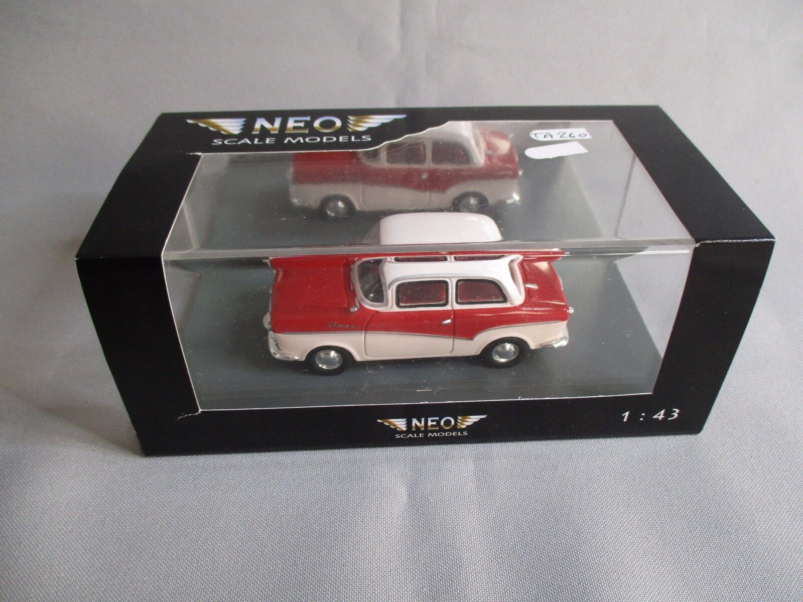 TA260 NEO SCALE MODELS ISAR ROYAL T700 1958 Ref NEO 43030 1 43 NEUF