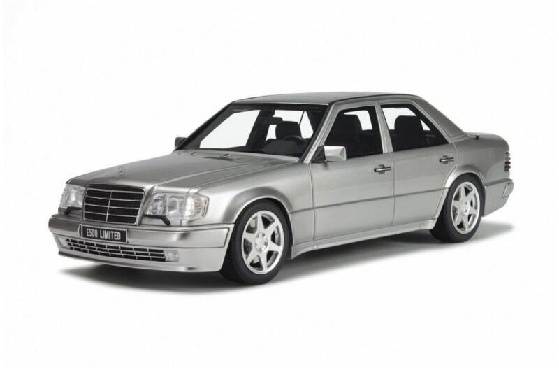 Otto Mobile 1994 Mercedes Benz W124 E500 argento 1 18 le 1500 un.