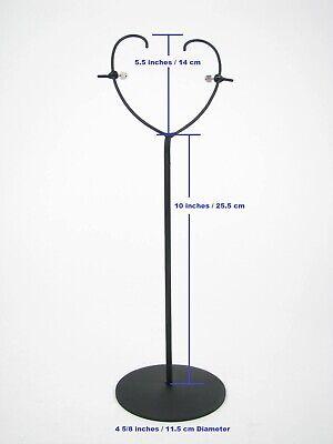 "GothamGallery Fine Tribal  African Art Metal Mask Stand Base Adjustable 14/"""