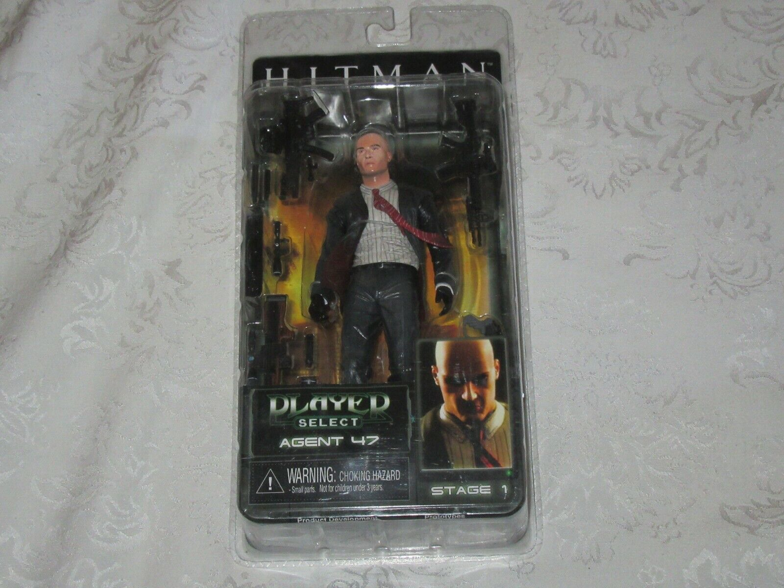 NECA Player Select Agent 47 Blood Money 2006 Video Game Action Figure