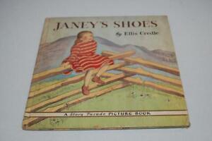 Janey-039-s-Shoes-by-Ellis-Credle-A-Story-Parade-Picture-Book-Vintage-1942