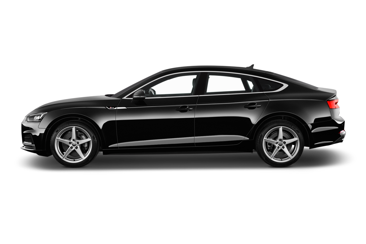 Audi A5 side view