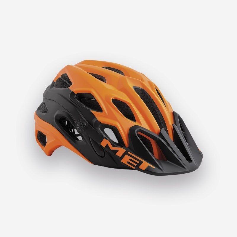 MET LUPO LUPO LUPO 2018 Mountain Bike Ciclismo Casco-arancione nero opaco a13bea