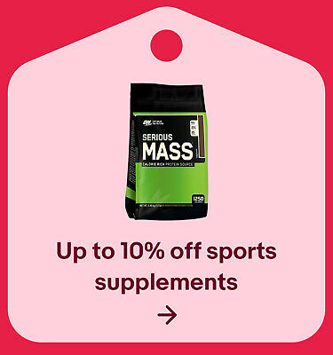 Up to 10% off sports supplements