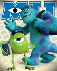 Monsters-University-Mike-and-Sulley-Mini-Poster-40cm-x-50cm-new-and-sealed