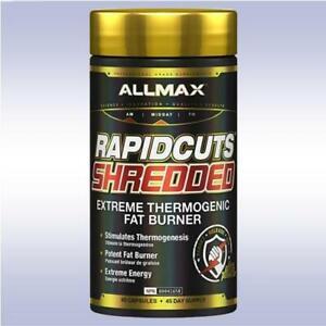ALLMAX RAPID CUTS SHREDDED (90 CAPSULE) thermogenic fat burner rapidcuts isoflex