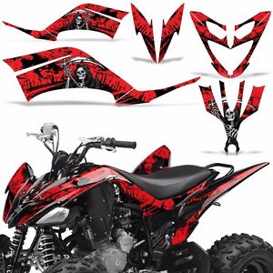 Yamaha Raptor 250 Decal Graphic Kit Quad Atv Wrap Deco Racing Parts 08 14 Reap R Ebay