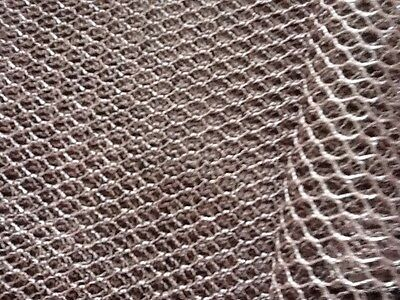 Metallic mesh net fabric 7 colours £3.65 per/m uses: craft, decoration, dance