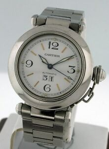 4df6e3fe0011 Image is loading Cartier-Pasha-C-Automatic-5-150-00-00-