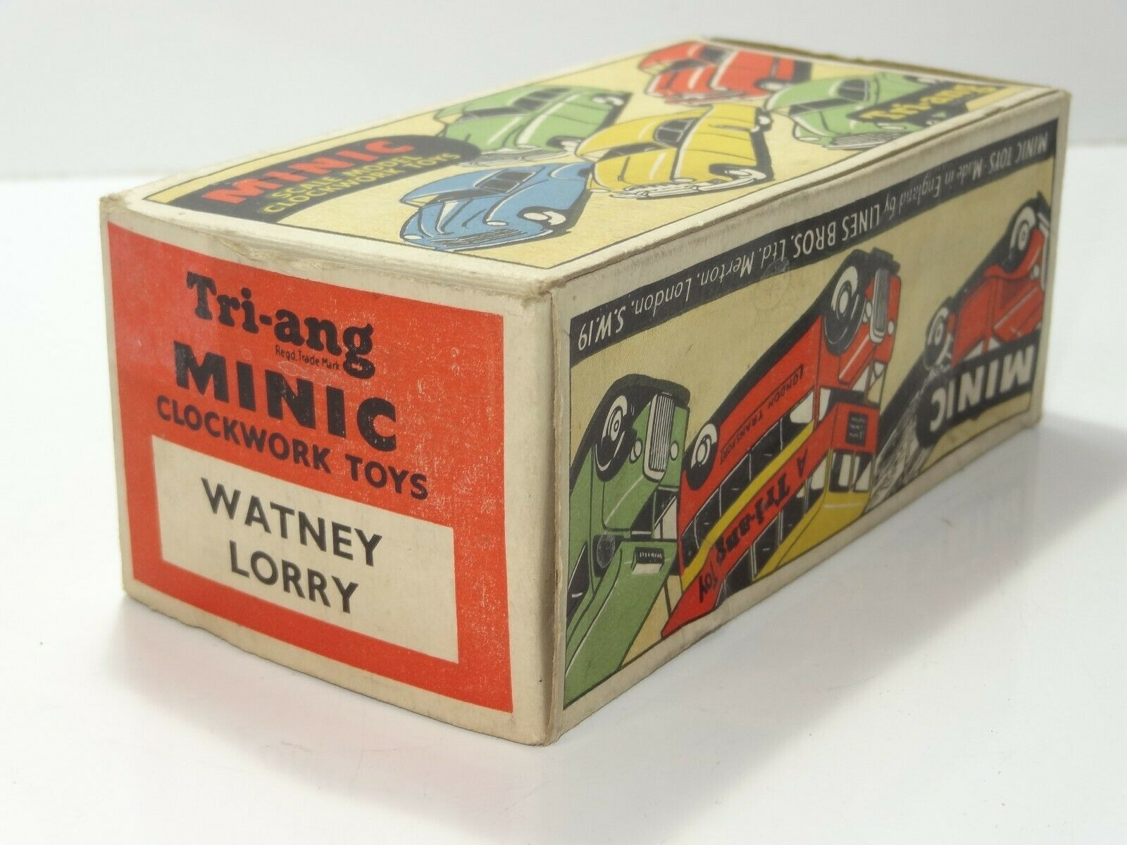 Triang Minic WATNEY BREWERY LORRY - ORIGINAL BOX ONLY (269)