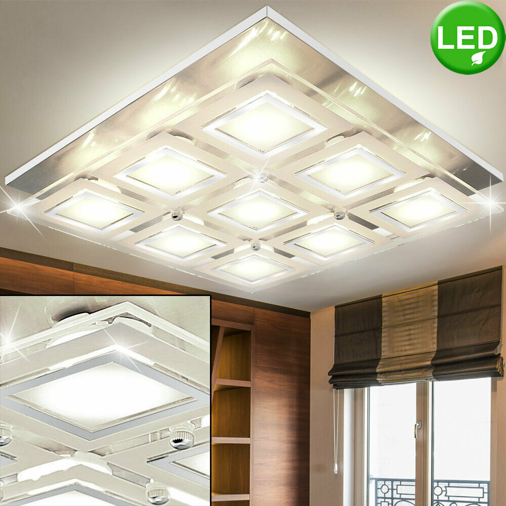 LED Wand Leuchte Wohn Ess Schlaf Zimmer Flur Dielen Beleuchtung Strahler Lampe