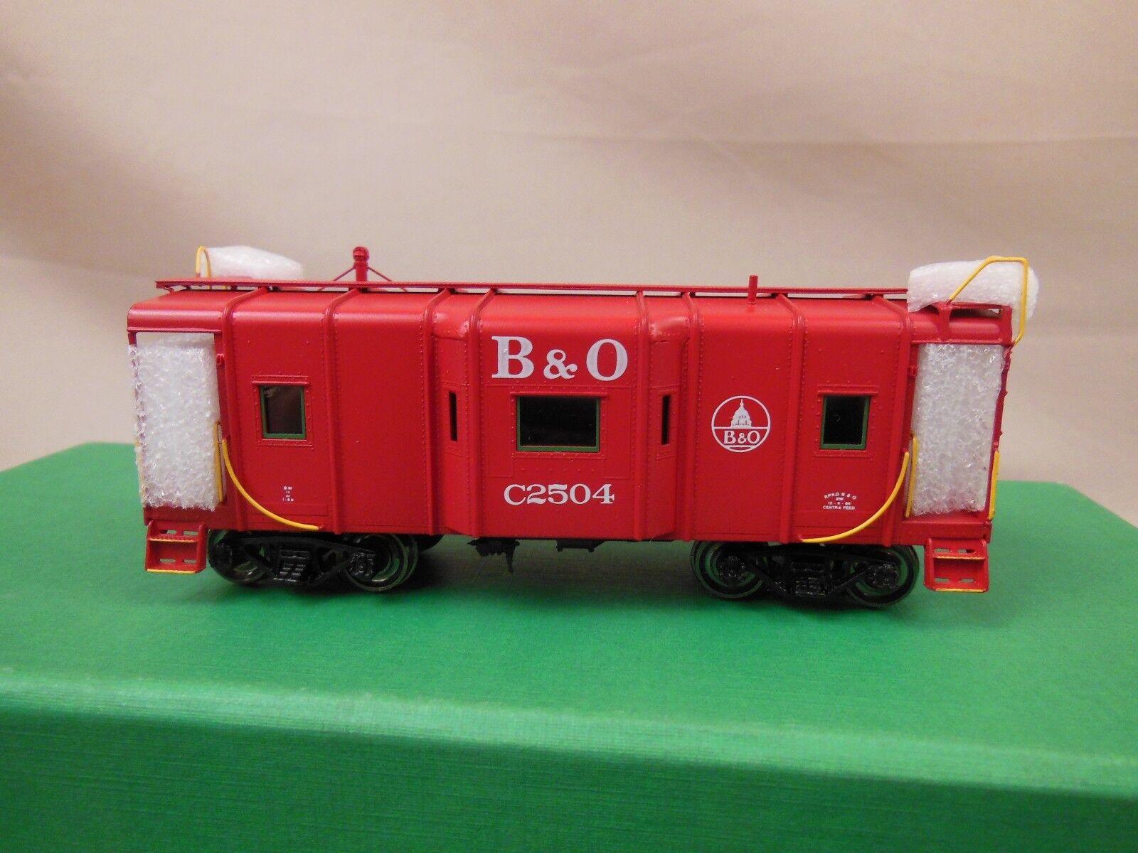 Escala Ho Latón Overland OMI-4200.1 & I5Ba B-W furgón de cola C2504 Domo Herald