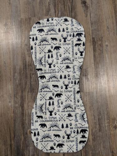 Wilderness Flannel Burp Cloths Contoured Soft Double Layer Mix Or Match Handmade