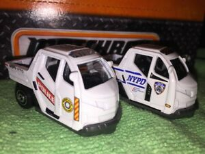 Lot-Of-2-Matchbox-Police-Vehicles-Meter-Maid-Police-Traffic-Enforcement-NL-1-64