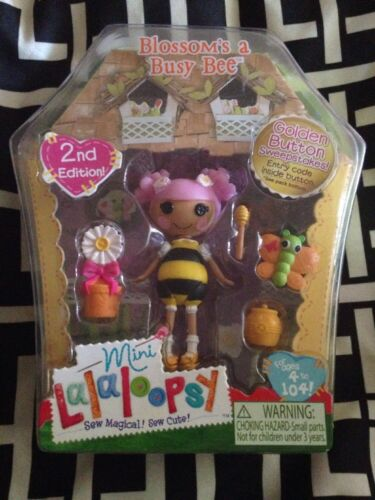 Lalaloopsy Mini Blossom/'s a Busy Bee Series 6 #4 Brand New