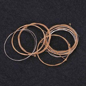 12 string acoustic guitar strings coated copper alloy set ebay. Black Bedroom Furniture Sets. Home Design Ideas