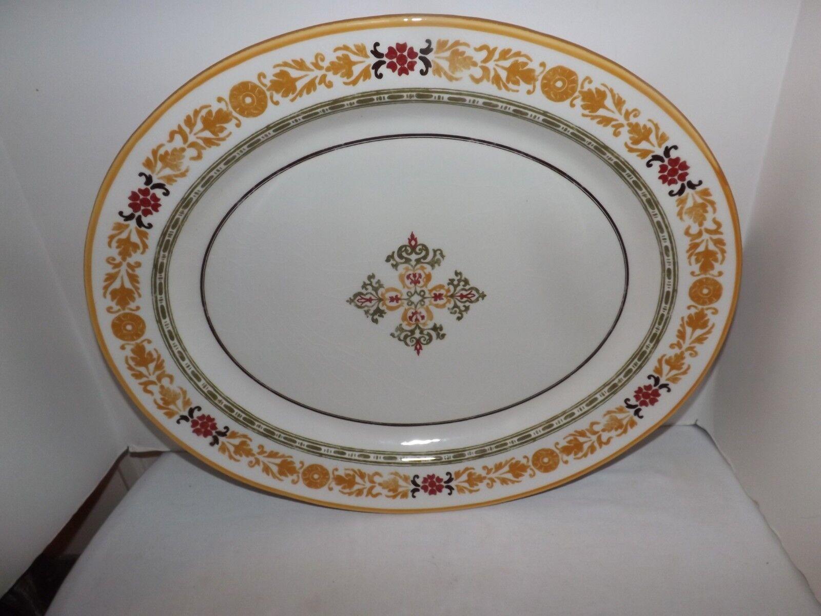 Grand Williams-Sonoma 20  céramique Turquie Platter (fabriqué en Italie)
