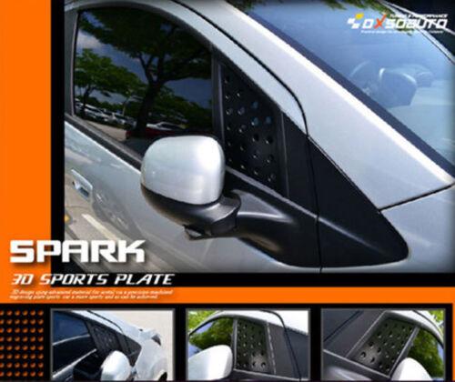 Fits: Chevrolet 09+ Spark DxsoAuto Rear C-Pillar Quarter window plate Btype
