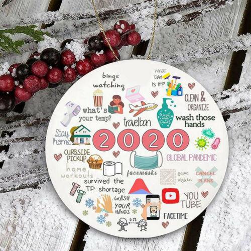 2020 événements annuels Noël Ornement Remembering UK